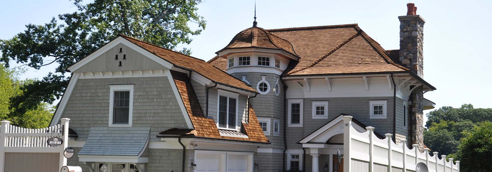 Restored Cedar Roof CT